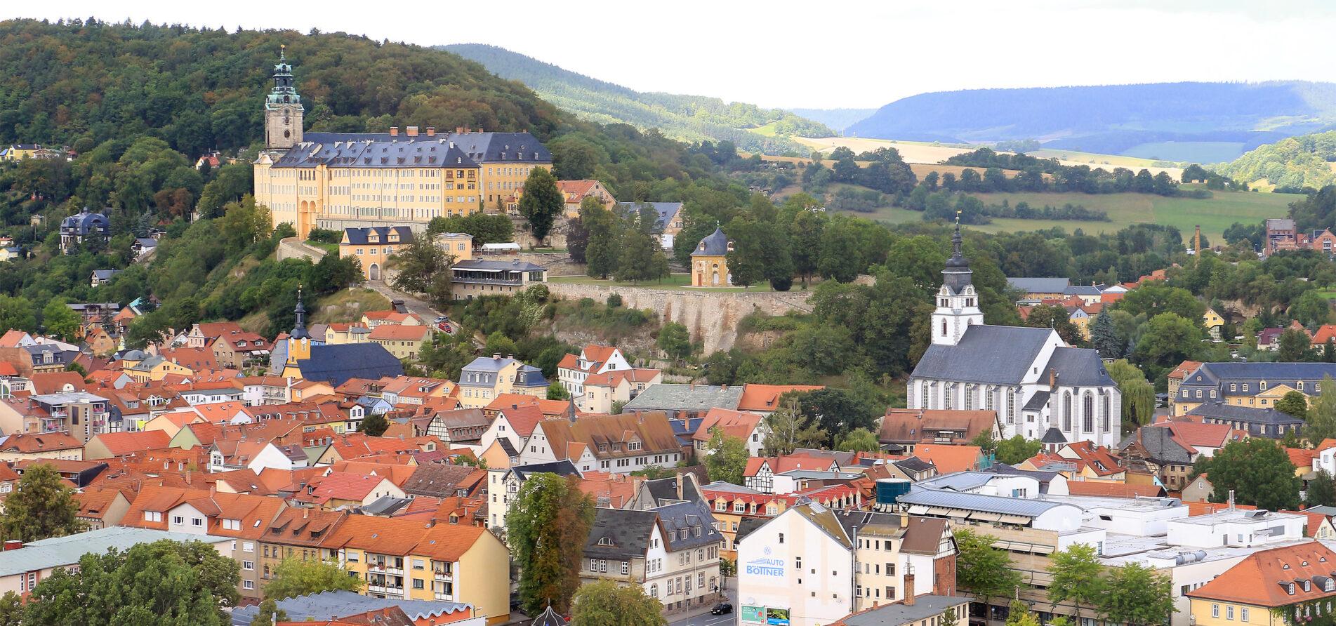 Blick ueber Rudolstadt Alexander Stemplewitz